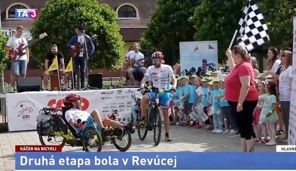Peter Káčer na bicykli sa do Revúcej vrátil po šiestich rokoch
