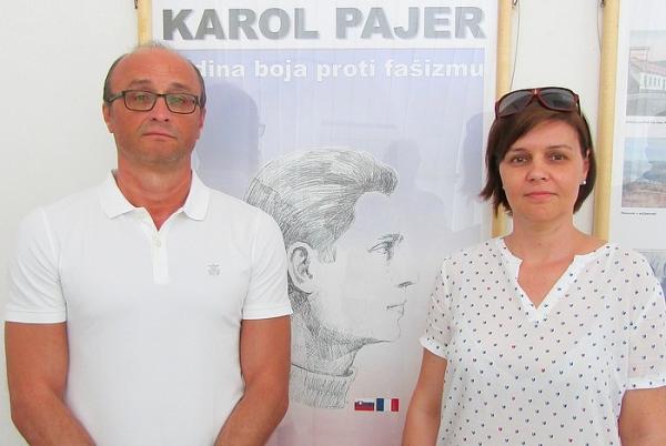 Otvorili výstavu o klenovskom rodákovi a francúzskom národnom hrdinovi Karolovi Pajerovi