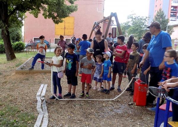 Hasičské popoludnie potešilo deti v Jelšave