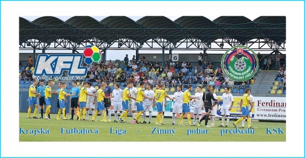 V januári 2019 štartuje Krajská futbalová liga jej Zimným pohárom predsedu KSK