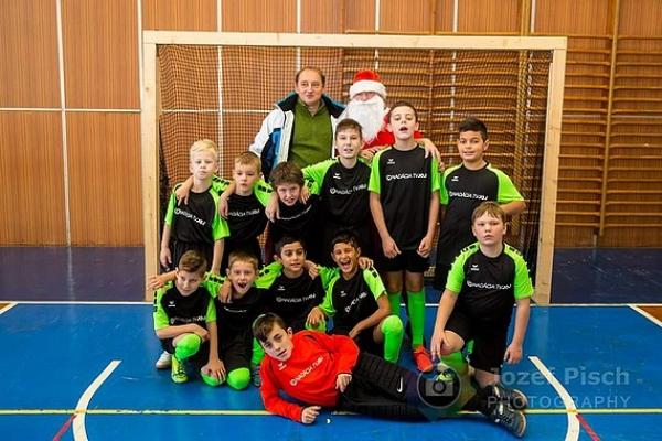 Mikulášsky turnaj prípraviek vo futbale pre MFK Dobšiná