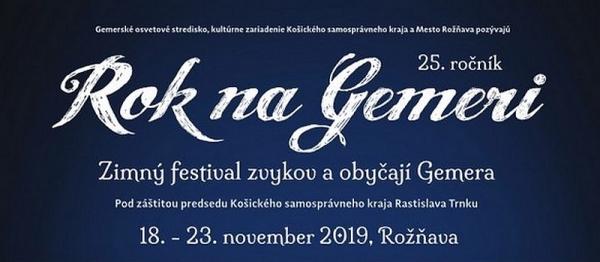 Zimný festival zvykov a obyčají Rok na Gemeri svoje štvrťstoročie oslávi veľkolepým programom