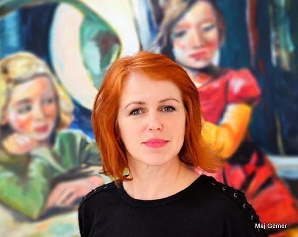 Alena Adamíková po dvadsiatich rokoch vystavuje v Revúcej
