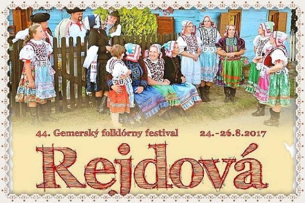 Blíži sa Rejdová 2017 – 44. ročník Gemerského folklórneho festivalu
