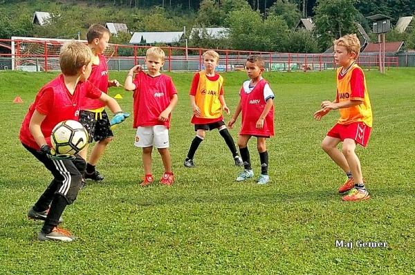 Malí futbalisti sa  tešia na sezónu