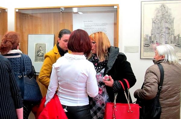 V Jelšave otvorili výstavu Moravský rytec Ignác Zeidler