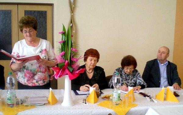 Základná organizácia Jednoty dôchodcov na Slovensku v Revúckej Lehote jubiluje