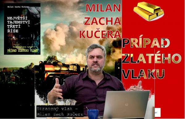 Najväčšie tajomstvo Tretej ríše - Prípad Zlatého vlaku odhalí Milan Zacha Kučera v rožňavskej knižnici