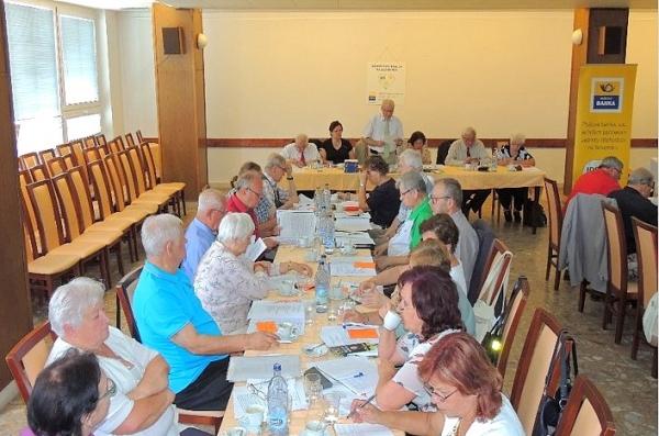 Zástupcovia všetkých okresných organizácií rokovali na Krajskom sneme KO JDS Banská Bystrica