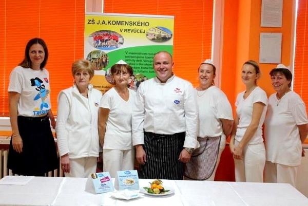 Deň školy so šéfkuchárom tatranského hotela
