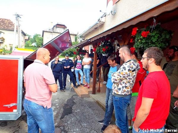 Ďalší kurz základnej prípravy hasičov absolvovali v Rakovnici