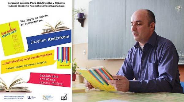 Mať to prečítané… pestrofarebný svet Jozefa Kaščáka v Gemerskej knižnici Pavla Dobšinského v Rožňave