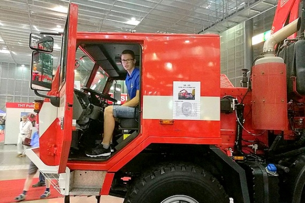 Bol som na Medzinárodnom veľtrhu hasičskej techniky a služieb v Brne