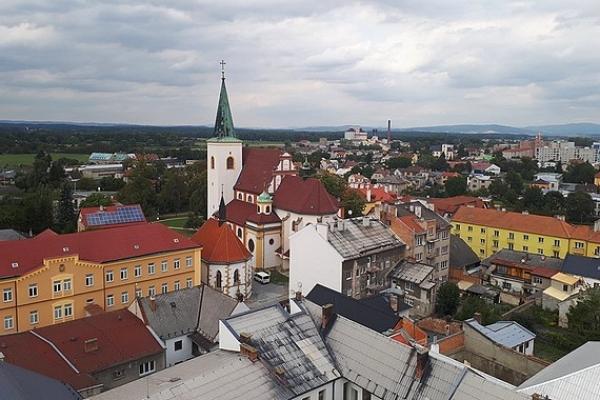 Partnerské mestá Litovel a Revúca