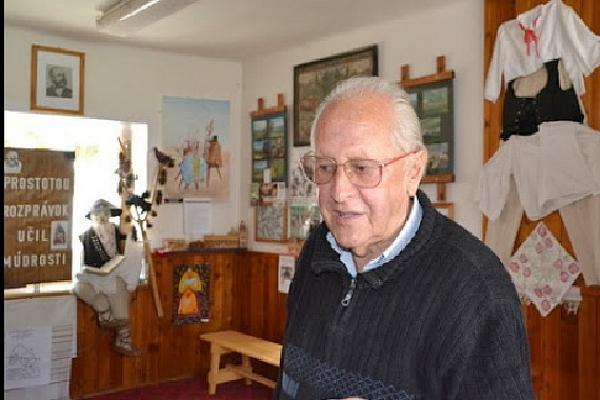 Slavošovský nestor PaedDr. Milan Sajenko oslávil 84. narodeniny