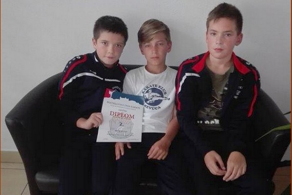 Revúčania z Bratislavského pohára v karate so striebrom i bronzom