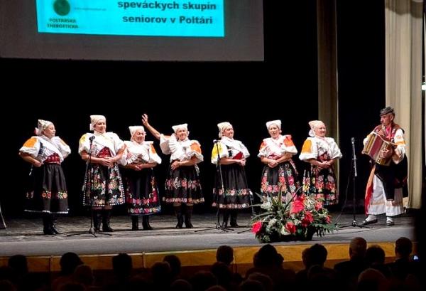 Poltár bol miestom krajskej prehliadky speváckych súborov seniorov už druhýkrát