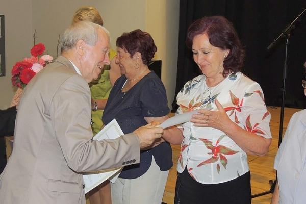 Na Krajskej prehliadke v prednese poézie, prózy a vlastnej tvorby seniorov Banskobystrického kraja v Brezne