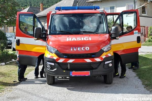 Nová hasičská technika aj pre obce v okrese Rožňava