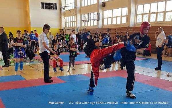 Prešov bol miestom druhého kola Open ligy SZKB aj s Kickbox Leon Revúca