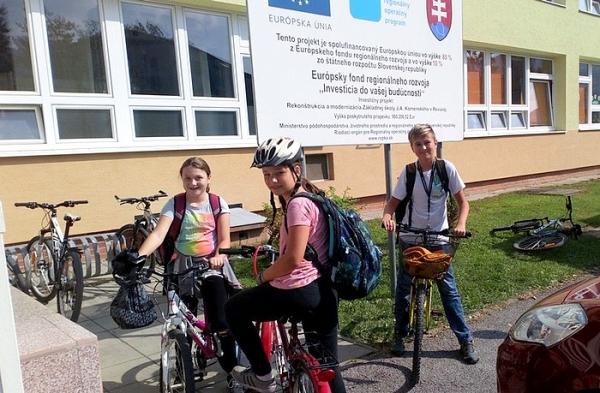 Týždeň mobility – týždeň v pohybe v ZŠ J. A. Komenského
