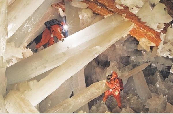 Pre zberateľov: Obrovské kryštály minerálov vytvorené prírodou