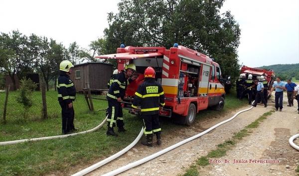 Silica zvládla taktické cvičenie dobrovoľných hasičov okresu Rožňava