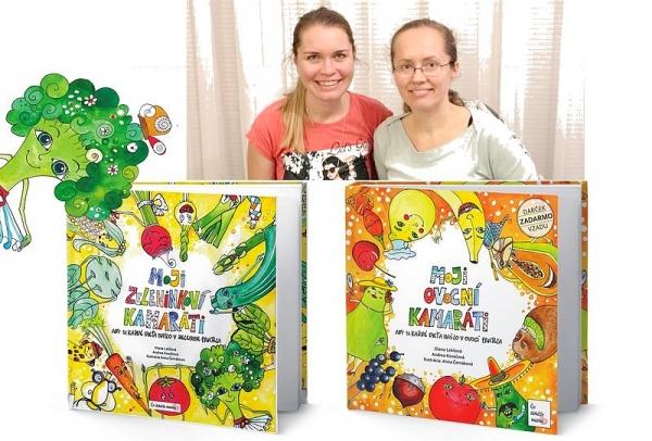 S Andreou Kováčovou a Dianou Lokšovou o tom, ako sa ovocie a zeleninka stali detskými kamarátmi
