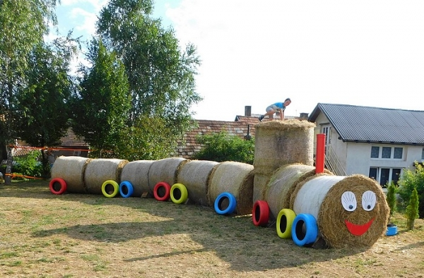 Poď sa hrať!, zaznelo v Plešivci a deti s radosťou prišli a vyšantili sa