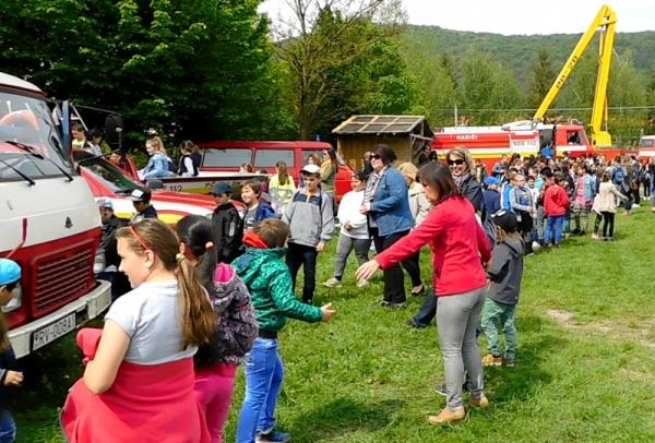 Hasičský deň v Plešivci patril najmä deťom