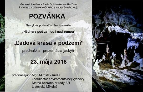 """Gemerská knižnica Pavla Dobšinského pripravuje projekt """"Nádhera pod zemou i nad zemou"""""""