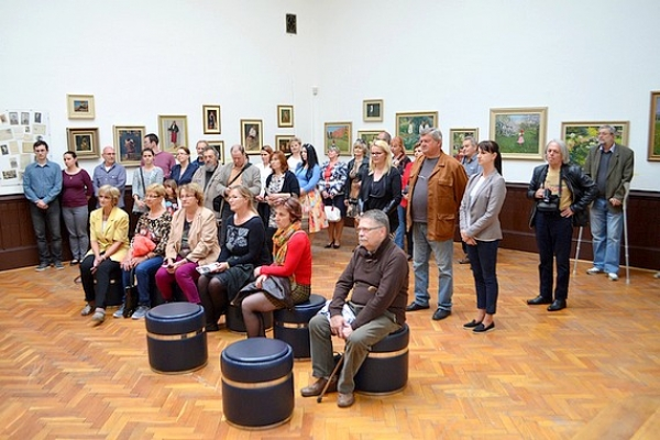 Banícke múzeum v Rožňave pripravilo výstavu ako výber z bohatého fondu umeleckých diel Teodora Jozefa Moussona