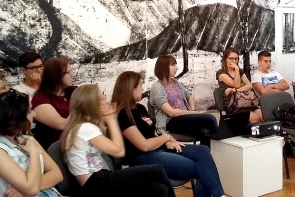 Galerijno-pedagogické hodiny k výstave ŽIŤ v GBM