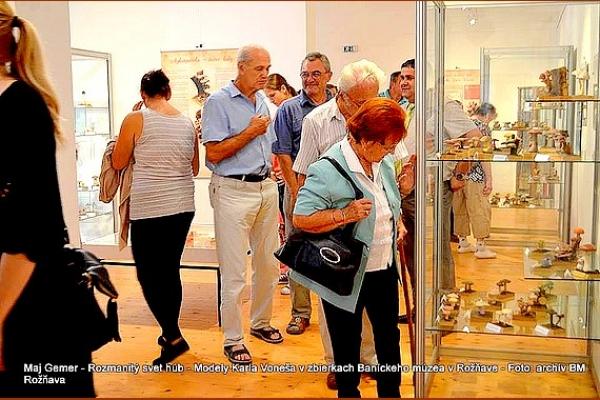 Rozmanitý svet húb - Modely Karla Voneša v zbierkach Baníckeho múzea v Rožňave
