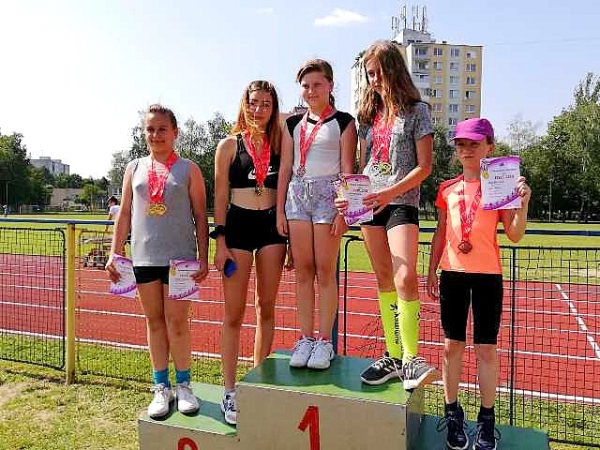 Najmladší revúcki športovci zo ZŠ  J. A. Komenského na Majstrovstvách kraja