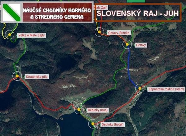 Náučný chodník Slovenský raj – juh