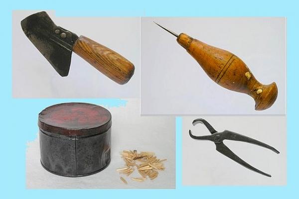 Predmet mesiaca október - Obuvnícke náradie na výrobu aopravu obuvi
