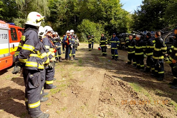 Krokava zažila taktické cvičenie pre príslušníkov OR HaZZ a dobrovoľných hasičov revúckeho okresu