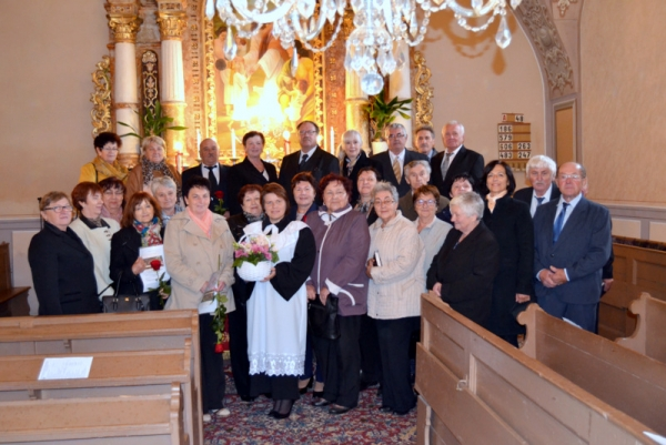 Zlatá konfirmácia troch konfirmačných ročníkov v cirkevnom zbore Gemerská Poloma