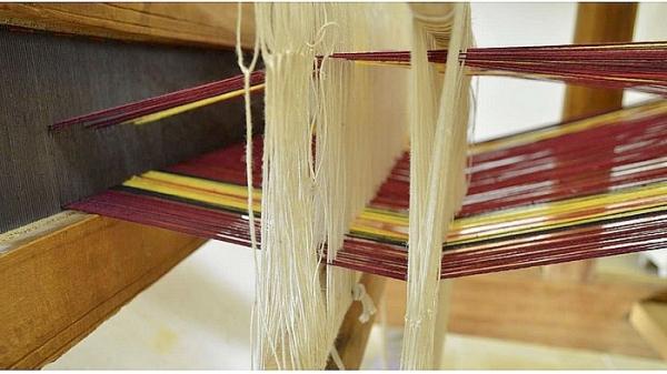 Víkendový kurz tkania na krosnách