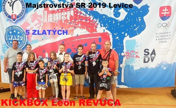 Revúcki kickboxeri si odniesli z MSR 16 medailí