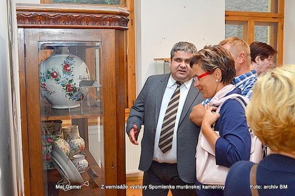 Zvernisáže výstavy Spomienka muránskej kameniny