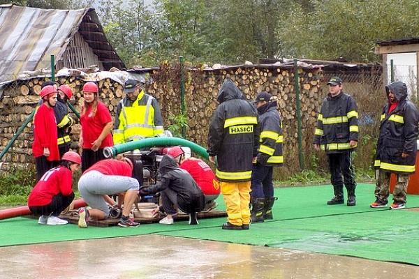 Ukončenie sezóny Okresnej hasičskej ligy bolo v Muráni
