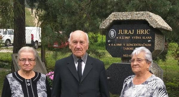 Symbolický pohreb účastníka SNP z Vyšnej Slanej, ktorý pred 75 rokmi zahynul v Dachau