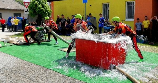 Územné kolo v hasičskom športe s 21 kolektívmi revúckeho okresu tentoraz v Chyžnom