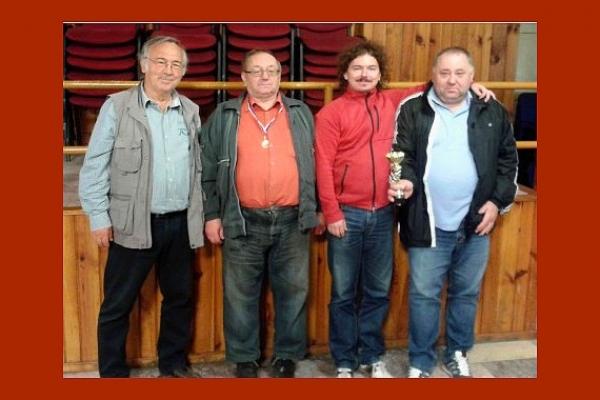 Desiaty ročník Gemerskej šachovej ligy družstiev patrí A-čku Štítnika