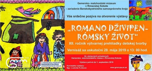 Niekoľko informácií k výstave Romano dživipen – Rómsky život, XII. ročník