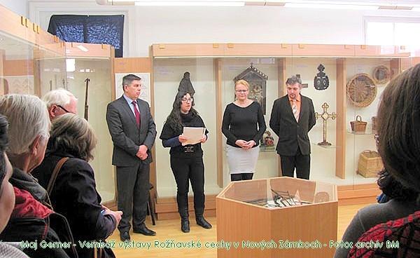 Ôsma repríza výstavy Rožňavské cechy potešila aj Nové Zámky