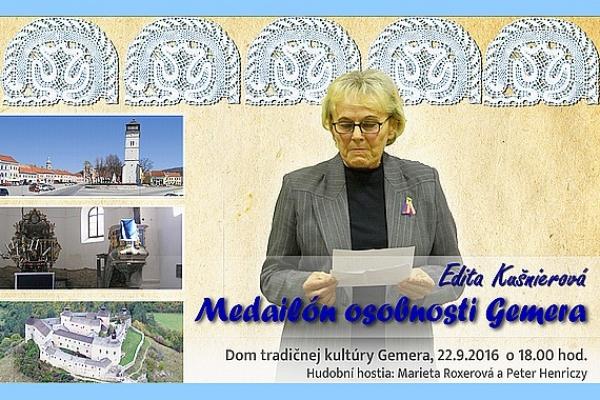 Medailón osobností Gemera - nové podujatie v Dome tradičnej kultúry Gemera v Rožňave