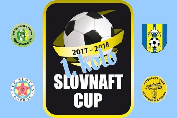 Prázdniny a dovolenky preruší od 22. júla 2017 zápolenie futbalistov o Slovnaft Cup